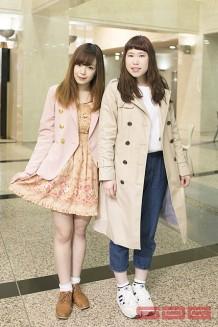 ファッション学科/相田さん&坂上さん