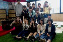 第2茶道実習室の 一角に和風庭園をSDG澁谷先生、木村先生とインテリアの学生で作成しました!