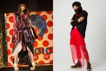 ファッションショー衣装制作①/統一テーマに合わせた衣装を制作し、演出(音楽・照明含む)を考えて衣装の世界観を表現する。ファッションショーまでの制作スケジュール管理を含めたトータルプロデュース。