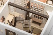 住居・店舗模型/模型をプレゼンテーションのひとつと捕らえ、スケール感にあわせた材料の選択、材質感や色の表現方法など製作技術を取得する。
