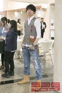 ファッション学科/進藤くん